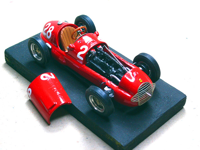 1 Ferrari 125 F1 1948 MODEL PLUS