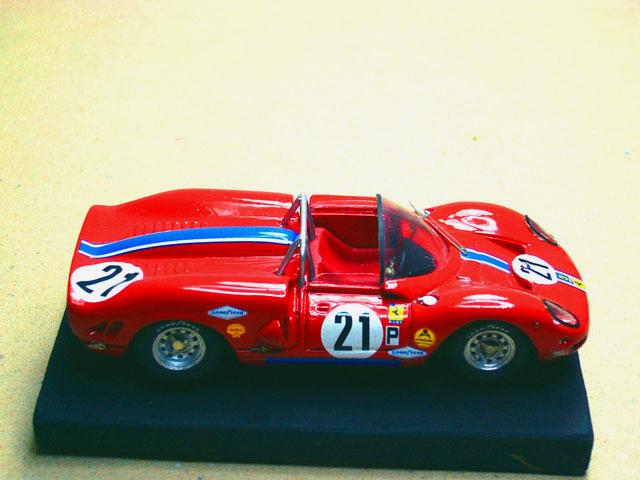 15 Ferrari P2-3 NART 1966 MG MODEL (resina)