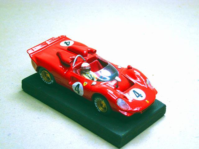 18 Ferrari P4 GR.7 Tasmania cup 1968 MG MODEL (resina)