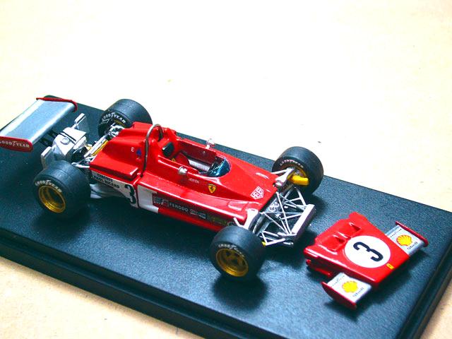 28 Ferrari 312 B3 1973 MODEL PLUS