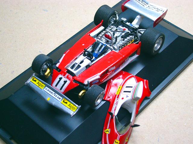 32 Ferrari 312T 1975 DALLARI