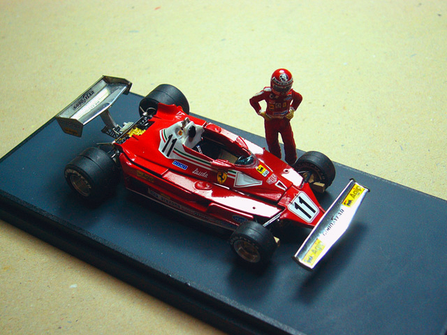 34 Ferrari 312 T2 1977 TAMEO KITS
