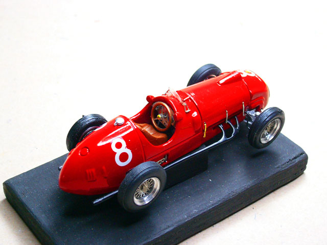 5 Ferrari 125 F1 1949 MODEL PLUS
